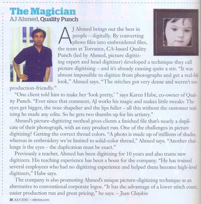 The Magician, AJ Ahmed, Quality Punch (Stitches July-2010)