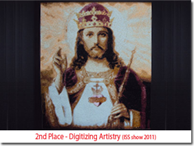 2nd Place - Digitizing Artistry (ISS show 2011)